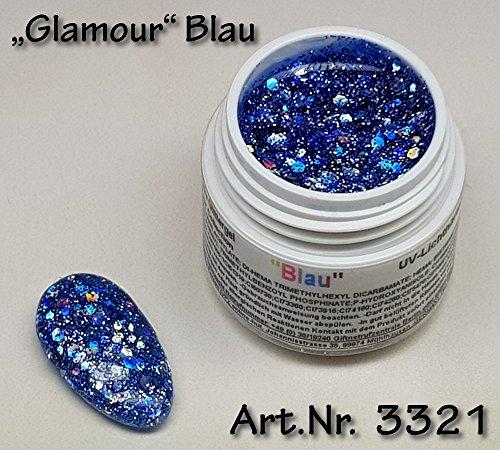 (5ml UV Exclusiv Glamour Collection Gel Blau)