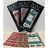 Geometric Nail Art Stickers - 3 Pack (42 Total Nail Art Wraps) Easy Nail Art and Pretty Nails