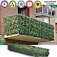 Amazon.it: siepe artificiale per balconi