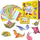 MumooBear 108pcs Kids Cartoon Color Paper Folding Toys Children Kingergarden Art Craft DIY Educational Toys