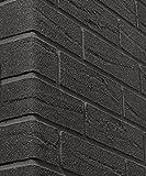 ELASTOLITH 99428Blackpool Flexible Mineral Brick gleitet, schwarz, 71x 240, von 48Stück