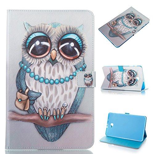 (Galaxy Tab A6 10.1-inch (2016) T580, Gray cat) - Galaxy Tab A6 26cm (2016) Case,high quality Flip PU Leather Wallet Tablet Case for Samsung Galaxy Tab A6 26cm inch SM-T580,Grey cat