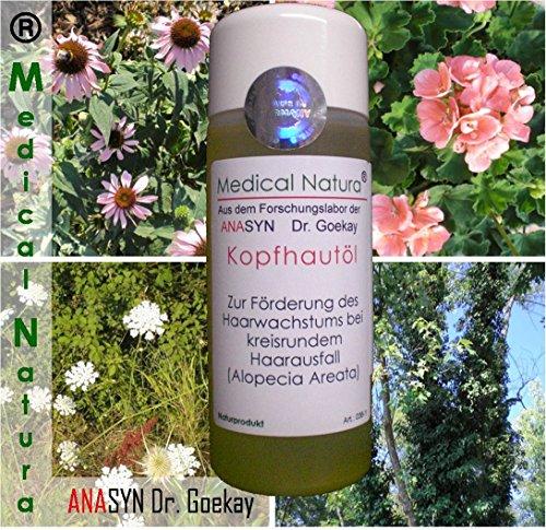 100 ml huile scalper - pour favoriser la croissance des cheveux dans la perte de cheveux par endroits ( Alopecia areata ). Produit naturel.