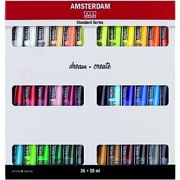 Royal Talens Set 12 Tubes 20 Ml Peinture Acrylique Amsterdam