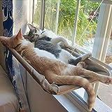 MRIMAYA Cat Bed, Cat Window Perch Window Seat Suction Cups Space Saving Cat Hammock Pet Resting Seat Safety Cat Shelves - Pro