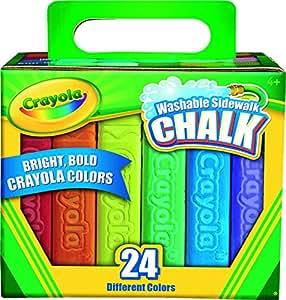Crayola - 51-2024-e-000 - Boîte De 24 Craies De Trottoir
