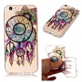 iphone 6/6s Case, iphone 6/6s Silicone TPU Transparent Cover, Cozy Hut iphone 6/6s Luxury Shining Bling Printing Drawing Design Scratch Resistant TPU Bumper Clear Flexible Silicone Back Soft Protective Case Cover for iphone 6/6s - Flower bells
