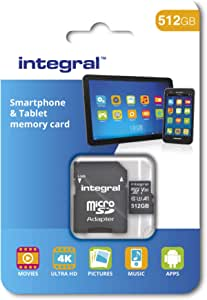 Integral 512gb Micro Sd Card High Speed Memory Computers Accessories