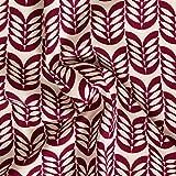 MIRABLAU DESIGN Stoffverkauf Baumwolle Leinen Canvas mit