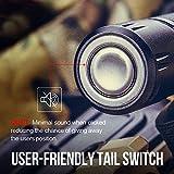 Olight® M2R Warrior LED Taschenlampe taktisch - mit XHP35 HD CW LED, 18650 3500mAh Akku und MCC USB-Magnetladekabel - Max.1500 Lumen - Kaltweiß - 5