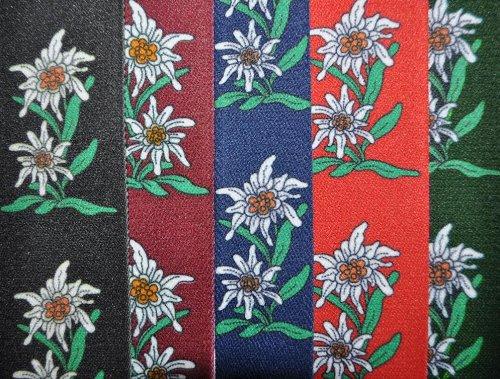 Trachtenhosenträger Hosenträger Edelweiss (Grün) - 2