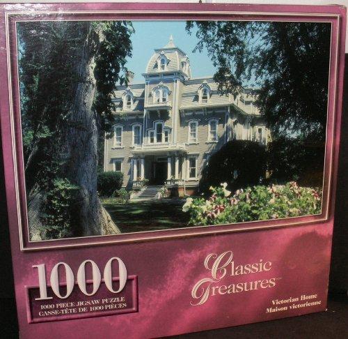 Victorian Home (Maison Victorienne) 1000 piece Jigsaw puzzle