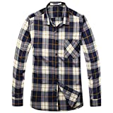 OCHENTA Homme Chemise Manches Longues Plaid Flanelle Casual - Best Reviews Guide