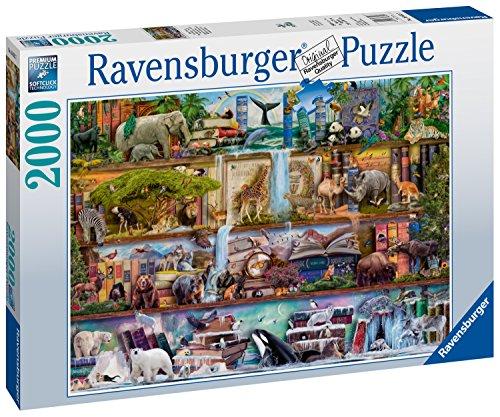 Ravensburger Großartige Tierwelt Puzzle - Rompecabezas (Puzzle Rompecabezas, Flora & Fauna, Niños y Adultos, Niño/niña, 14 año(s), 800 mm)