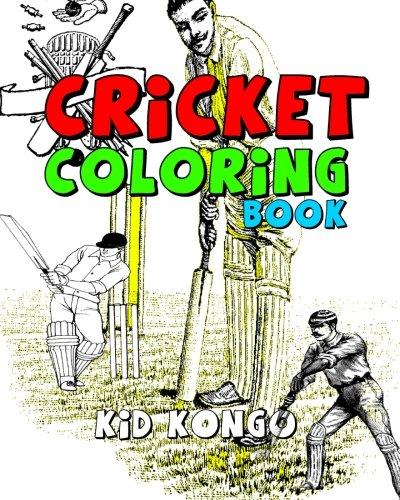 Cricket Coloring Book por Kid Kongo