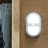 Mabor Lámpara de Noche, Luz de Noche, LED Sensor de Movimiento, Luces de Armario, Lámpara a Pilas de Pared