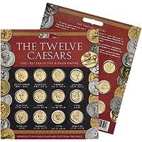 Münzen The Twelve Caesars - Goldmünzen der ersten 12 römischen Kaiser (authentische Replikate) - 12er Set