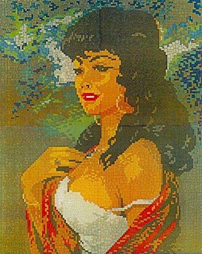 Mini Stecksystem Black Lady ca. 8.100 Teile Nr. 41264 (Lady Mosaik)