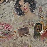 Huit Foto ddigital bedruckt Farbe Baumwolle Vorhang Stoff