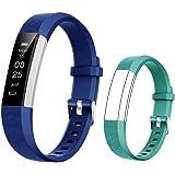 BIGGERFIVE Pulsera Actividad Inteligente Reloj Inteligente para Niños Niñas, Impermeable IP67 Deportivo Smartwatch con Podóme