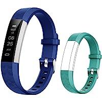 BIGGERFIVE Fitness Armband für Kinder, Schrittzähler Uhr Fitness Tracker mit Kalorienzähler und Schlafmonitor…