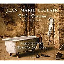 Leclair: Violinkonzerte op.7, Nr. 1, 3, 4 & 5