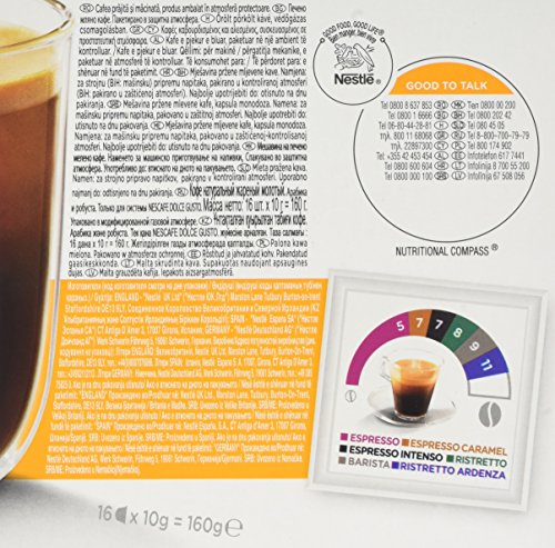 NESCAFÉ Dolce Gusto Americano Smooth Morning Coffee Pods, 16 Capsules (Pack of 3 - Total 48 Capsules, 48 Servings)