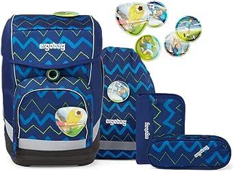 ergobag Unisex Kinder Soccer Fanbear Luggage- Kids' Luggage