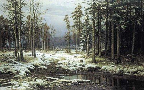 Das Museum Outlet-Schischkin Ivan-pervyiy sneg (First Snow)-Poster Print Online (A3Poster) -