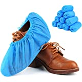 Kodenipr Club Non Woven Disposable Shoe Cover,Blue, (100 Pieces(50 Pairs))