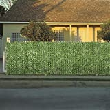 Best Privacy Fences - Faux-Ivy Privacy Fence 3M Roll Screen Artificial Outdoor Review