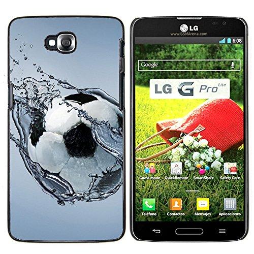 OB-star ( El ejercicio de la bola de fútbol ) LG G Pro Lite / D680 D682TR Impreso Colorido Protector Duro Espalda Funda Piel De Shell