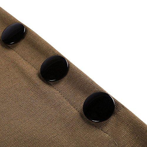 0dc3af6405 Kenancy Mujer Faldas Largas de Tubo Elegante Cintura Alta Elástico ...