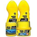 PIDILITE Motomax Car Grooming Kit 1-2k Rubbing Compound 200 g, Car Shampoo 100 ml, Dashboard Polish 100 ml, Cream Polish 60 g