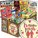 Traumpaar | Schokoladen Paket | Geschenkset | Traumpaar | Schokolade Korb | Traumpärchen | mit Zetti, Viba, Halloren und mehr