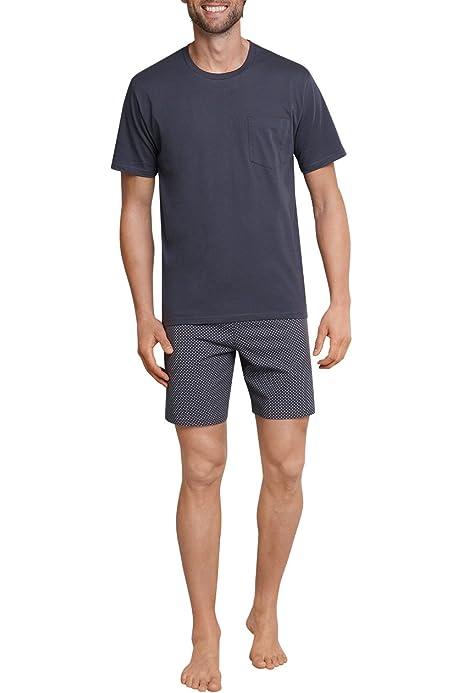 Schiesser Comfort Fit Schlafanzug Kurz Ensemble de Pyjama Homme