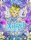 Best Creativity for Kids Teen Books For Girls - Angel Coloring Book : Volume 1 - For Review