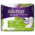 Always Discreet Serviettes Small Plus pour Fuites Urinaires et Incontinence x16