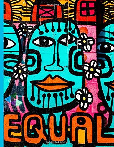 Graffiti Street Art #5 Equal: Everyday Notebook por Roxi Press