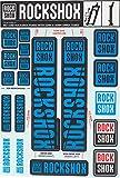 RockShox Aufklebersatz 30/32mm und RS1 blau, Sid/Reba/Revelation (<2018) Sektor/Recon/X32/30G/30S/XC30, 11.4318.003.502 Ersatzteile Standrohre