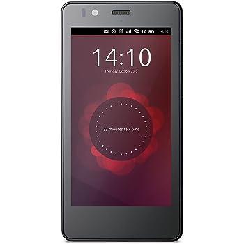 bq Aquaris  E4.5 Smartphone Ubuntu Edition, Nero [Italia]