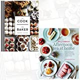 The Cook and Baker and Afternoon Tea at Home 2 Books Bundle Collection - Deliciously indulgent recipes for sandwiches, savouries, scones, cakes and other fancies