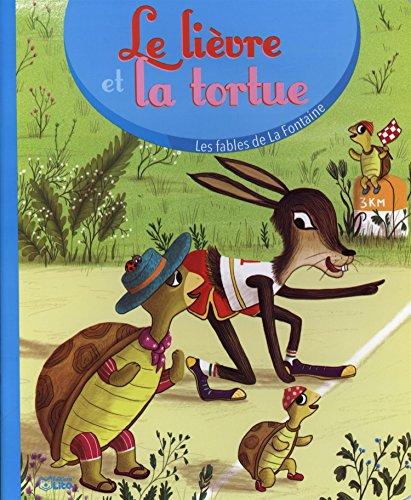 Les fables de la Fontaine: le livre et la tortue - Ds 3 ans