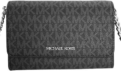 Michael Kors Damen 35F0GTVC8B Jet Set Travel Medium Multifunction Phone Xbody Crossbody Bag Wallet