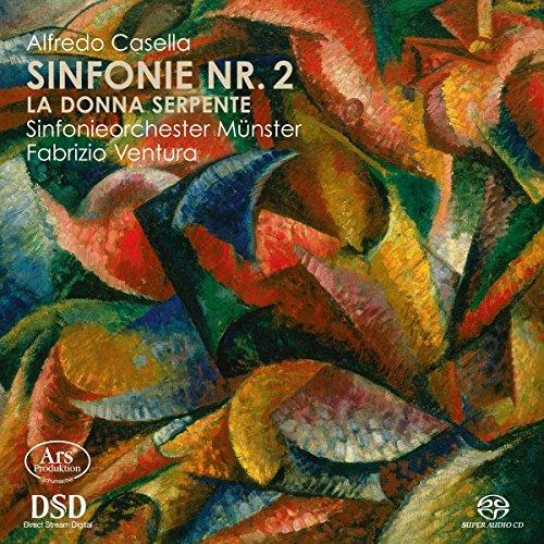 Preisvergleich Produktbild Casella: Sinfonie Nr. 2 / Sinfonische Fragmente aus 'La Donna Serpente'