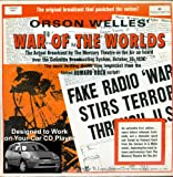 ORSON WELLES IN THE WAR OF THE WORLDS 1938 RADIO SHOW AUDIO CD IN WAV FORMAT DESIGNED TO WORK IN YOUR CAR CD PLAYER AND HOME CD PLAYER (NOT MP3)