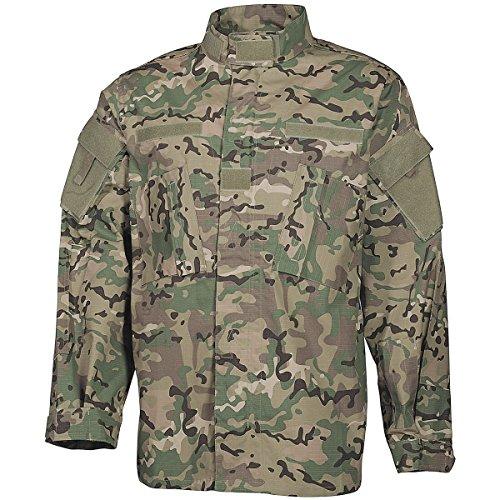 ba77fa62416 MFH Men s US ACU Ripstop Field Jacket Operation Camo