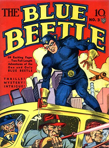 The Blue Beetle - Issue 003 (Golden Age Rare Vintage Comics Collection (With Zooming Panels) Book 3) (English Edition) 003 Wein