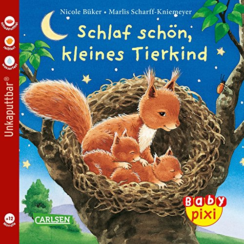 Baby Pixi 40: Schlaf schön, kleines Tierkind (Kleinkind-bett-blatt-satz)