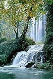 empireposter Wasserfall-Monasterio de Piedra